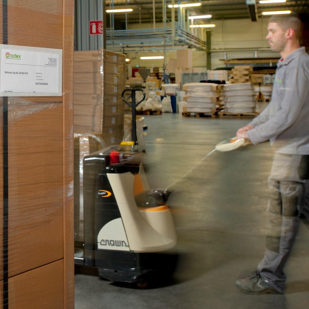 Service Logistique Prodex