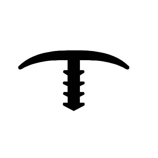 T shape for robot - F0452