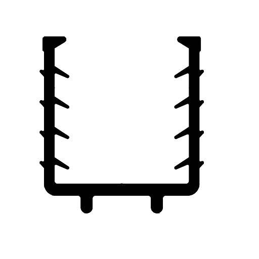 Railing profile-F3718