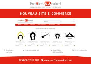 Nouveau site e-commerce