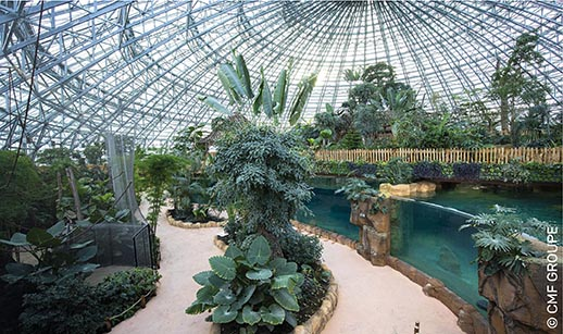 Dome Beauval Copyright CMF GROUPE